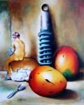 Obras de arte: America : Cuba : La_Habana : Vedado : Amortiguando