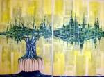 Obras de arte: Europa : Portugal : Setubal : Baixa_da_Banheira : Duelo Desigual II
