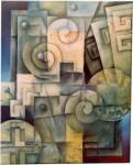 """Obras de arte:  : Argentina : Cordoba : COSQUíN : """"Fusionando"""""""