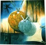"""Obras de arte:  : Argentina : Cordoba : COSQUíN : """"Fusion IV"""""""