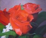 Obras de arte: Europa : España : Catalunya_Barcelona : Sabadell : Rosas rojas