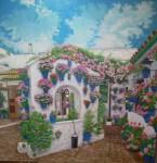 Obras de arte: Europa : España : Andalucía_Granada : almunecar : patio del pozo