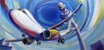 Obras de arte: Europa : España : Andalucía_Málaga : Rincón_de_la_Victoria : volando voy, volando vengo, por er camino yo me entretengo