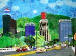 Obras de arte: America : Venezuela : Miranda : Caracas_capital : Caracas Cotidiana y Cosmopolitana
