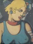 """Obras de arte:  : Uruguay : Montevideo : Montevideo_ciudad : """"Desnudo femenino 2"""""""