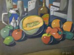 "Obras de arte:  : Uruguay : Montevideo : Montevideo_ciudad : ""Bodegón con melón"""