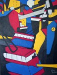 "Obras de arte:  : Uruguay : Montevideo : Montevideo_ciudad : ""Paisaje urbano 7"""