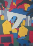 "Obras de arte:  : Uruguay : Montevideo : Montevideo_ciudad : ""Paisaje urbano 8"""
