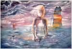 Obras de arte: America : Uruguay : Montevideo : Montevideo_ciudad : RESKEBRAJAMIENTO ACTUAL A BASE DE SALITRE