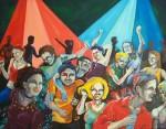 Obras de arte: America : Argentina : Buenos_Aires :  : Peces en el agua
