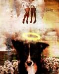 Obras de arte:  : Chile : Region_Metropolitana-Santiago : Santiago_centro : In Dog we trust