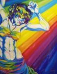 Obras de arte: America : Argentina : Buenos_Aires :  : Chica de luz
