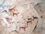 Obras de arte: America : Chile : Tarapaca : IQUIQUE : Casería rupestre