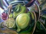 Obras de arte: America : Colombia : Cundinamarca : BOGOTA_D-C- : bodegon curvoexpresionismo