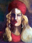 Obras de arte: Africa : Egipto : Ash_Sharqiyah : meniaalqamh : with red hat