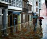 Obras de arte: Europa : España : Galicia_La_Coruña : Coruna : Rua galega3