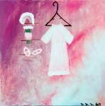 Obras de arte: America : Colombia : Antioquia : Medellín : Mi vestido de primera comunion