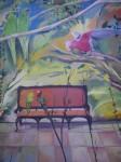 Obras de arte:  : España : Euskadi_Bizkaia : Bilbao-ciudad : sillon tropical