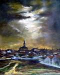 Obras de arte: Europa : España : Madrid : Las_Rozas : Luna llena. La Roda