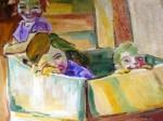 Obras de arte:  : España : Madrid : Madrid_ciudad : NIÑOS EN LA CAJA
