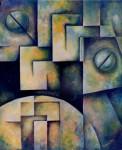 """Obras de arte:  : Argentina : Cordoba : COSQUíN : """"Fusión Ancestral I"""""""