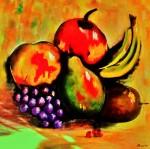 Obras de arte:  : España : Extremadura_Badajoz : La-Albuera : frutas