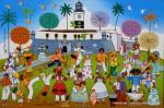 Obras de arte: America : Brasil : Pernambuco : Recife : FOLCLORES DA BAHIA