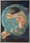 Obras de arte:  : México : Oaxaca :  : SOÑANDO EN LA LUNA