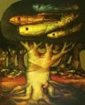 Obras de arte: America : Honduras : Francisco Morazan : Tegucigalpa : El paisaje y sus consecuencias
