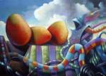 Obras de arte:  : Costa_Rica : Heredia : Heredia_centro : Pantacruelico