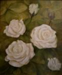 Obras de arte:  : España : Catalunya_Tarragona :  : Rosas blancas