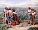 Obras de arte:  : España : Andalucía_Sevilla : Espartinas : Maletillas en Almonaster