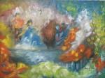 Obras de arte: America : México : Mexico_Distrito-Federal : Coyoacan : EN EL LAGO