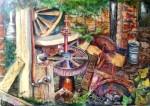 Obras de arte: Europa : España : Comunidad_Valenciana_Alicante : Elche : Vieja Noria