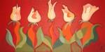 Obras de arte: America : Argentina : Buenos_Aires : Cuidad_Aut._de_Buenos_Aires : Jardin de Tulipes