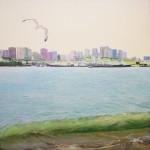 Obras de arte:  : Argentina : Buenos_Aires : Mar_del_Plata : La Ola Verde