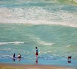 Obras de arte:  : Argentina : Buenos_Aires : Mar_del_Plata : Escena de Playa