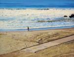 Obras de arte:  : Argentina : Buenos_Aires : Mar_del_Plata : Sola en la Playa