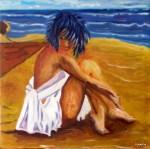 Obras de arte: Europa : Espa�a : Canarias_Las_Palmas : Maspalomas : En la arena