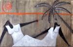 Obras de arte: America : México : Mexico_Distrito-Federal : Mexico_D_F : PLAYA EN BLANCO