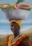 Obras de arte: America : Colombia : Antioquia : Medellin : LA NEGRA TOMASA