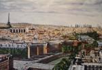 Obras de arte: Europa : España : Euskadi_Bizkaia : Bilbao : DESDE NOTRE-DAME