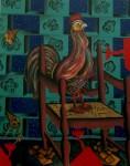 Obras de arte: America : México : Mexico_Distrito-Federal : Tlalpan : Rey Gallo.