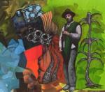 Obras de arte: America : México : Mexico_Distrito-Federal : Tlalpan : Injerto