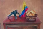 Obras de arte: America : Colombia : Santander_colombia : Bucaramanga : Merienda