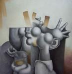 Obras de arte: Europa : España : Aragón_Zaragoza : zaragoza_ciudad : Hombre bebiendo