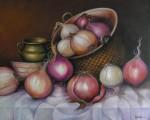 Obras de arte:  : Guatemala : Guatemala-region : Guatemala-ciudad : Cebollas