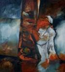 Obras de arte: America : Chile : Region_Metropolitana-Santiago : Santiago_de_Chile : Mujer de pie
