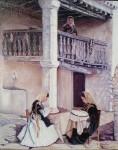 Obras de arte: Europa : España : Valencia : valencia_ciudad : Patio ibicenco