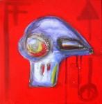 Obras de arte: Europa : España : Catalunya_Tarragona : Reus : Estudio para un retrato futurista I